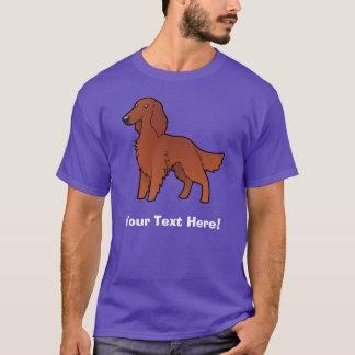 T-shirt Bande dessinée irlandaise/anglais/poseur de