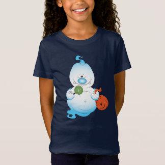 T-Shirt Bande dessinée mignonne de fantôme de Halloween