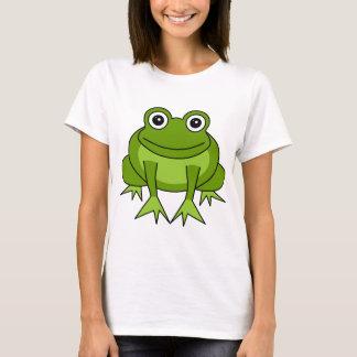 T-shirt Bande dessinée mignonne de grenouille - prince