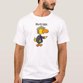 T-shirt Bande dessinée politique de Dork drôle de Donald
