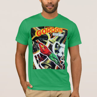 T-shirt Bande dessinée vintage de la science fiction