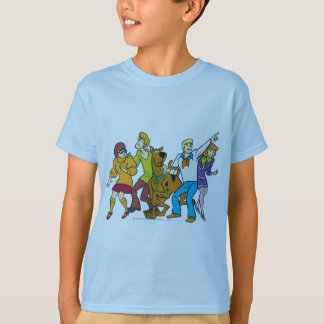 T-shirt Bande entière 13 Mystery Inc