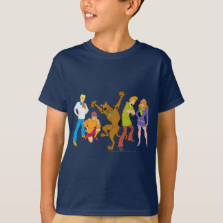 T-shirt Bande entière 16 Mystery Inc