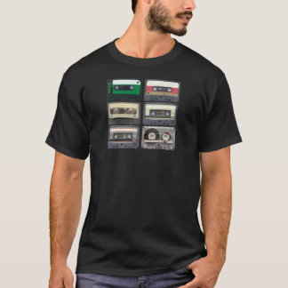 T-shirt Bandes de mélange