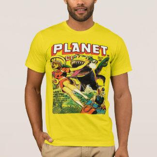 T-shirt BANDES DESSINÉES SCI FI de PLANÈTE des années 1940