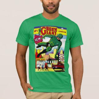T-shirt Bandes dessinées vintages géantes vertes