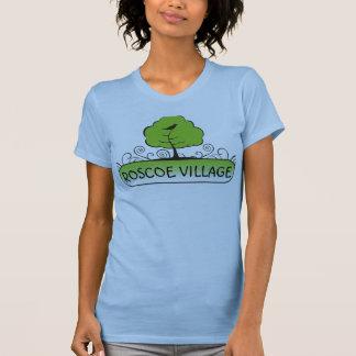 T-shirt banner_tree, VILLAGE de ROSCOE