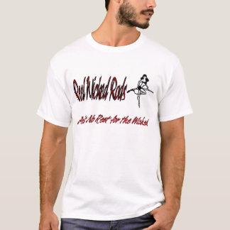 T-shirt Bannière mauvaise de Rods de bobine