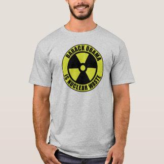 T-shirt Barack Obama est les déchets nucléaires