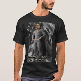 T-shirt Barack Obama est mon héros