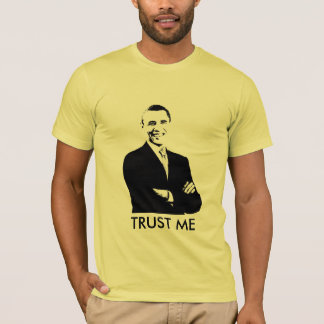 T-shirt Barack Obama, ME FONT CONFIANCE