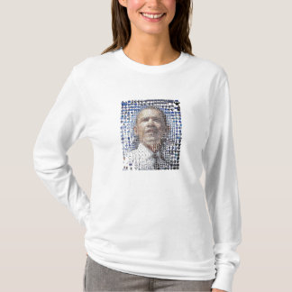 T-shirt barack-obama-mosaïque-portrait