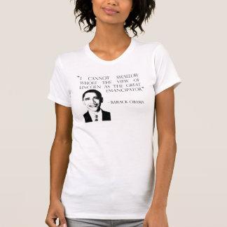 T-shirt Barack Obama sur la guerre