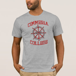 T-shirt Barbares de Battlin d'université de Cimmeria