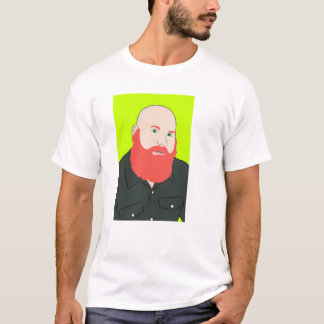 T-shirt Barbe rouge féroce
