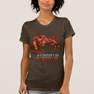 T-shirt Baril Racing_It ce qui je fais la chemise