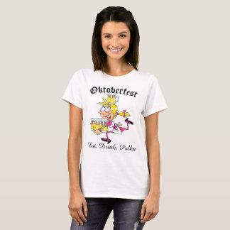 T-shirt Barmaid d'Oktoberfest