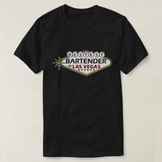 T-shirt Barman de Las Vegas Bestest