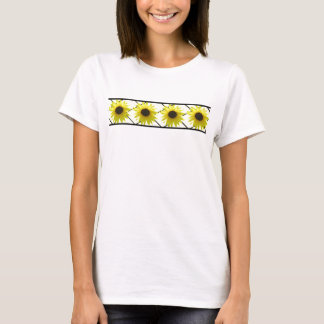 T-shirt Barre de tournesol