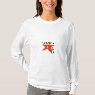 T-shirt Basculez la promenade avec Jésus !