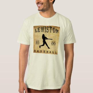 T-shirt Base-ball 1886 de Lewiston Pennsylvanie