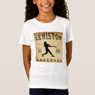 T-Shirt Base-ball 1886 de Lewiston Pennsylvanie