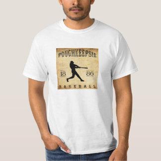 T-shirt Base-ball 1886 de Poughkeepsie New York