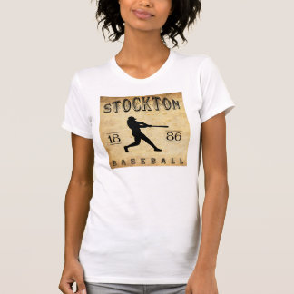 T-shirt Base-ball 1886 de Stockton la Californie