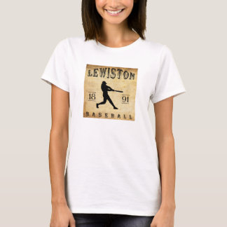 T-shirt Base-ball 1891 de Lewiston Maine