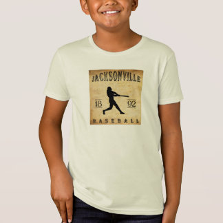 T-Shirt Base-ball 1892 de Jacksonville l'Illinois