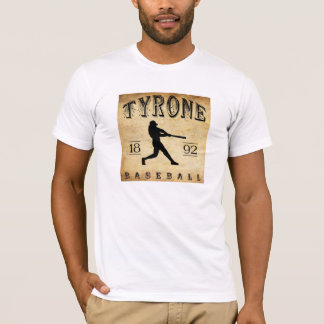 T-shirt Base-ball 1892 de Tyrone Pennsylvanie