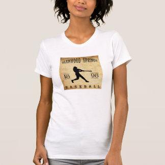 T-shirt Base-ball 1898 de Glenwood Springs le Colorado