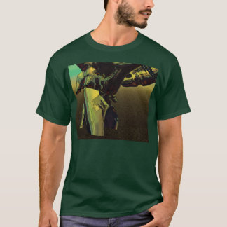 T-shirt Base d'arbre de Cyber