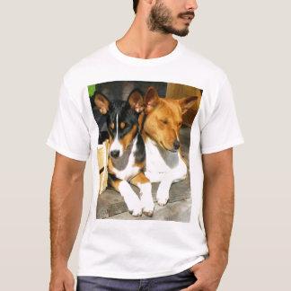 T-shirt Basenji Tucson et Basja