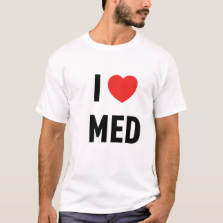 T-shirt Basique I Love Med
