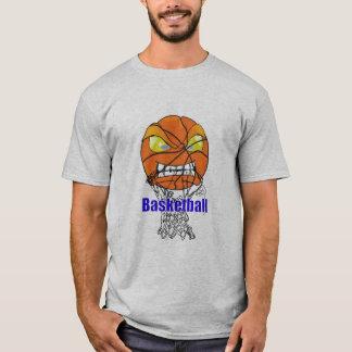 T-shirt Basket-ball mangeant le filet