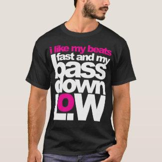 T-shirt Basse vers le bas bas