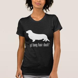T-shirt Basset allemand aux cheveux longs