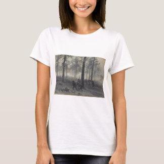 T-shirt Bataille de guerre civile de Chickamauga