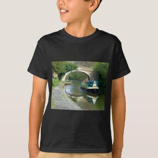 T-shirt Bateau de canal croisant le long