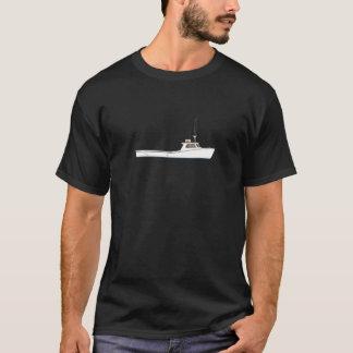 T-shirt Bateau de Deadrise de baie de chesapeake