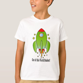 T-shirt Bateau de Rocket de félicitations d'étudiant