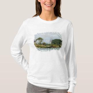 T-shirt Bateaux d'Alfred Sisley | à la serrure chez