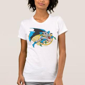 T-shirt Batman et profil de Robin