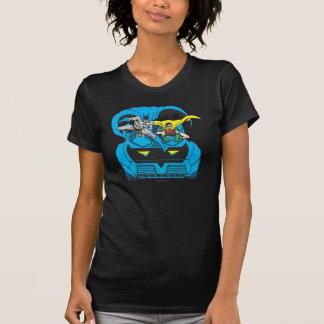 T-shirt Batman et tour Batmobile de Robin