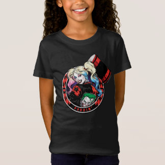 T-Shirt Batman   Harley Quinn clignant de l'oeil avec le