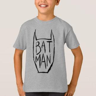 T-shirt Batman saisissent la tête
