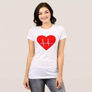 T-shirt Battement de coeur