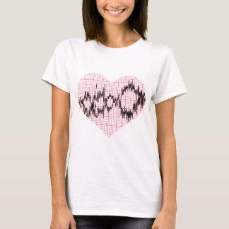 T-shirt Battement de coeur V