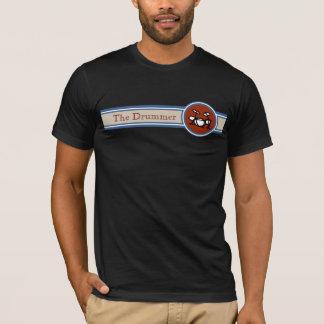 T-shirt batteur de style - tambours